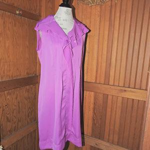 Elie Tahari Violet Dress Large